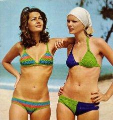 1970 : Graphismes et couleurs pop!!