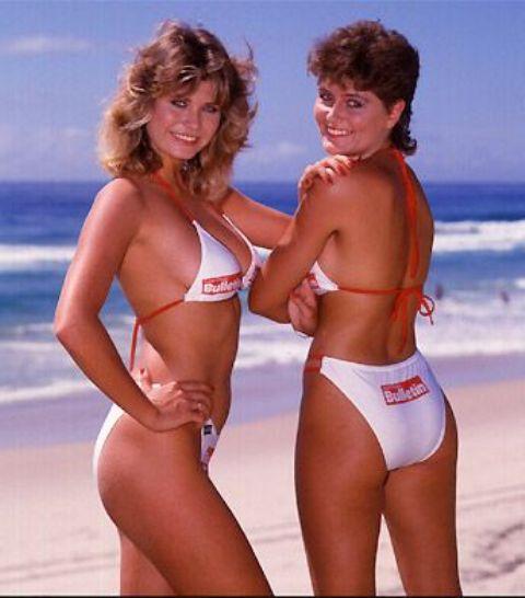 1980: On porte son maillot la taille très haute !!!!